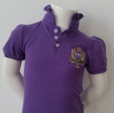 kids purple polo shirt